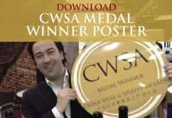 CWSA Medal Winner Poster
